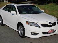 CARFAX One-Owner. Clean CARFAX. Super White 2011 Toyota
