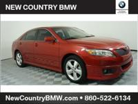 Red 2011 Toyota Camry SE FWD 6-Speed Automatic