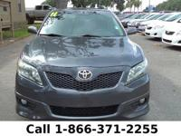 2011 Toyota Camry SE Features: Warranty - Keyless Entry