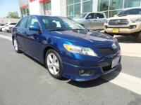 New Arrival! This 2011 Toyota Camry SE will sell fast