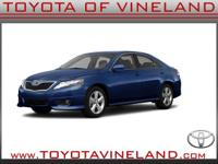 This 2011 Toyota Camry SE includes a braking assist,