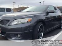 This 2011 Toyota Camry SE is equipped with luxury