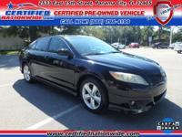 ONE OWNER VEHICLE! 2011 Toyota Camry SE 3.5L V6 SMPI