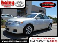 2011 Toyota Camry Sedan Our Location is: Haley Toyota