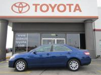 TOYOTA CERTIFIED CAMRY XLE, ALLOY WHEELS, BOUGHT NEW