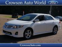 Check out this amazing 2011 Toyota Corolla S, which