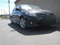 This beautiful used 2011 Toyota Corolla S runs like new