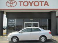 TOYOTA CERTIFIED COROLLA, CLEAN CARFAX and ONE-OWNER.