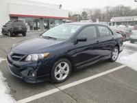 This Corolla is CERTIFIED! This 2011 Toyota Corolla 4dr