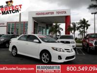 Only 67,670 Miles! Boasts 34 Highway MPG and 26 City