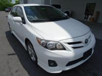 Look at this 2011 Toyota Corolla . Its transmission and