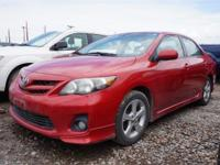 Tried and true, this Corolla's for you! Reliability,