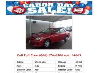 2011 Toyota Corolla Brown LE 4dr Sedan Sedan Gas FWD I4
