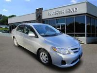 North End is happy to provide this 2011 Toyota Corolla