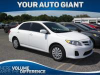 Check out this 2011 Toyota Corolla LE. Its Automatic
