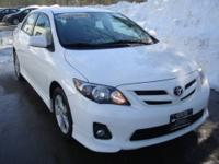 Fun to drive 2011 Toyota Corolla S with 5-speed manual