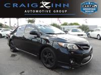 CarFax 1-Owner, This 2011 Toyota Corolla S will sell