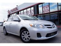 2011 TOYOTA Corolla SEDAN 4 DOOR LE Our Location is: