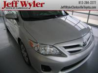 If you've been looking for just the right 2011 Corolla