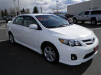 New Inventory.. This White Toyota CERTIFIED. 2011