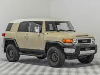 This 2011 Toyota FJ Cruiser continues Toyota's legacy