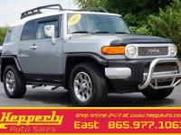 This 2011 Toyota FJ Cruiser in Silver Fresco Metallic