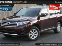 This 2011 Toyota Highlander 4dr 4WD 4dr V6 features a