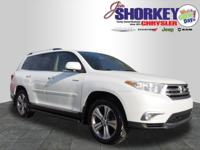 2011 Toyota Highlander Limited New Price! Clean CARFAX.