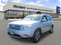 This 2011 Toyota Highlander Limited The exterior color