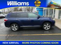 Options:  2011 Toyota Highlander Limited|Blue|6