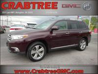 Options:  2011 Toyota Highlander Limited|Awd Limited