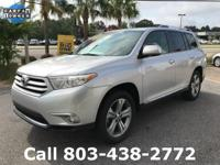 Options:  2011 Toyota Highlander Limited|Silver|3.5L V6