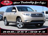 Options:  2011 Toyota Highlander Limited|Beige|One