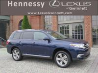 2011 Toyota Highlander Limited in Blue, 3.5L V6 SMPI