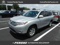 2011 Toyota Highlander SUV FWD 4dr V6 Base SUV Our