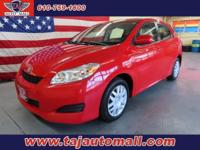 Options:  2011 Toyota Matrix Base|We Sell Our Vehicles