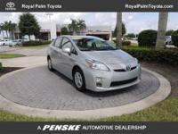 Toyota Certified, CARFAX 1-Owner, In Good Shape. FUEL