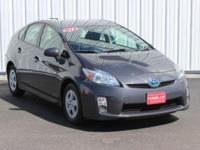 Options:  2011 Toyota Prius Three|Gray|Full Exterior &