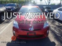 **One Owner**, -Clean Carfax-, Prius Three, 5D