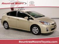 CARFAX One-Owner. Sandy Beach Metallic 2011 Toyota