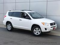 This 2011 Toyota RAV4 4dr 4WD 4dr 4-cyl 4-Spd AT 4x4