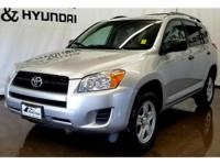 This Toyota RAV4 has a L4, 2.5L high output engine.