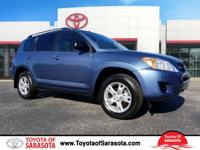 CARFAX One-Owner. Pacific Blue Metallic 2011 Toyota