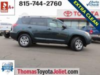2011 Toyota RAV4, 4WD, Clean Vehicle History Report,