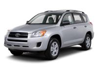 Ride high and in comfort in this 2011 Toyota RAV4.