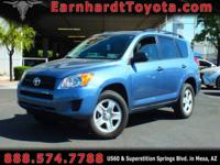 We are happy to offer you this 1-OWNER 2011 TOYOTA RAV4