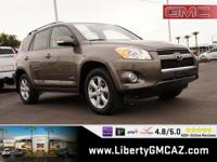 Gold 2011 Toyota RAV4 Limited 4WD 4-Speed Automatic