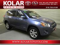 RAV4 Limited, 4WD, ONE Owner Per AUTO CHECK History
