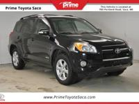 CARFAX One-Owner! 2011 Toyota RAV4 Limited in Black!