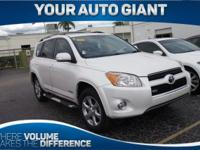 Safe and reliable, this Used 2011 Toyota RAV4 Ltd packs